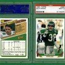 Pair 1993 TOPPS # 366 - Rich Miano - Philadelphia Eagles - PSA MINT 9 - Football Card