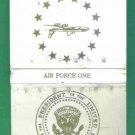 1989 Air Force One Book Of Matches