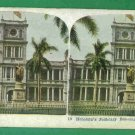 1 - Hawaiian Polychrome Stereo View Card - Vintage