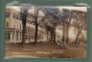 3 - Trembleau Hall - New York  - 1937 Postcards
