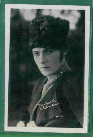 1 - Rudolph Valentino  - Photo Postcard