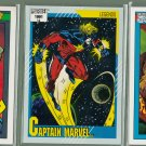12 - Marvel Comic Cards - Stan Lee - Impel 1990/1 - Lot B