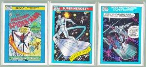 8 - Marvel Comic Cards - Silver Surfer - Impel 1990/1 - Lot D