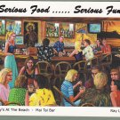 Billy's At The Beach Postcard - Newport Beach