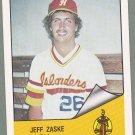 1984 Hawaii Islanders Jeff Zaske - Lynnwood WA
