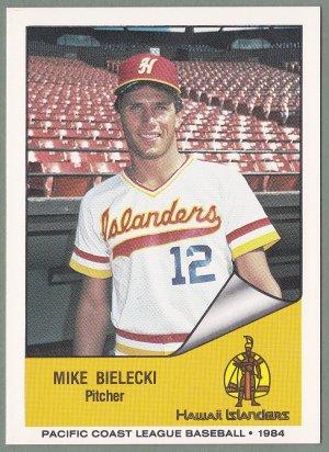 1984 Hawaii Islanders Mike Bielecki - Baltimore MD