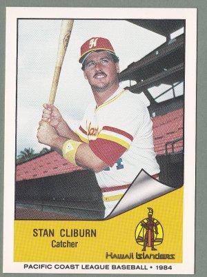 1984 Hawaii Islanders Stan Cliburn - Jackson MS