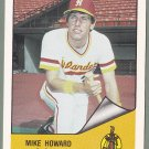 1984 Hawaii Islanders Mike Howard - Seattle WA
