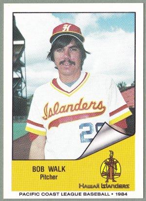 1984 Hawaii Islanders Bob Walk - Frazier Park CA