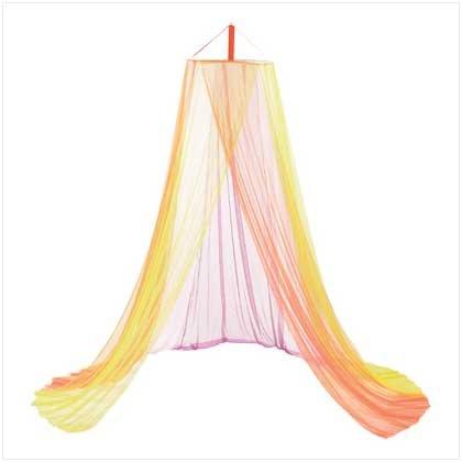 Rainbow Bed Canopy