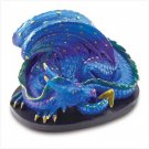 Sapphire Dragon Figurine
