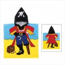 Pirate Hooded Play Towel