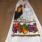 Roaster & Fruit Crochet Top Dish Towel