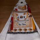 Tea Time Crochet Top Dish Towel