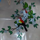 Birds In A Tree!  Faux Stained Window Cling