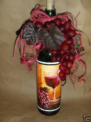 Red,Red Wine! Lighted Wine Bottle