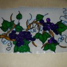 Grapevine  Faux Stained Window Cling