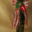 Stawberry's Lighted Wine Bottle