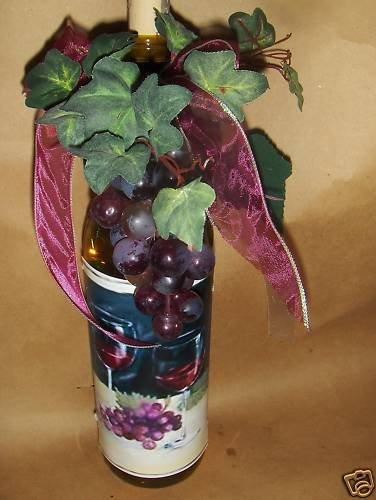 Wine For Two ! Lighted Wine Bottle