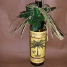 Palm Tree Lighted Wine Bottle