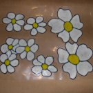 Daisy  Faux Stained Window Cling