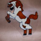 Horse Faux Stained Window Cling