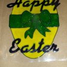 Happy Easter   Faux Stained Window Cling