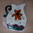 Water Pitcher Faux Stained Window Cling