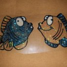 Fish Faux Stained Window Cling