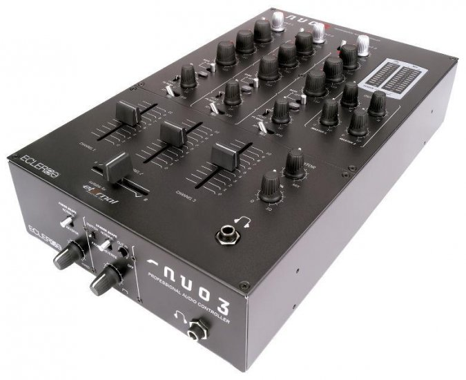 Ecler Nuo3 3-Channel Mixer
