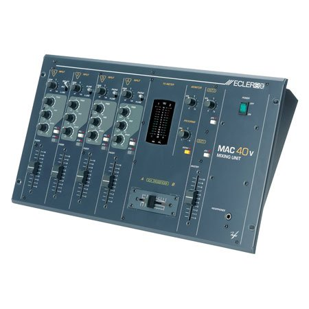 Mac 40v / 4 Kanal Mixer VCA Fader, Mic, XLR Out