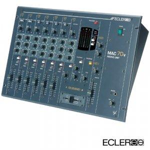 Mac 70v / 6 Kanal Clubmixer 3 Band EQ