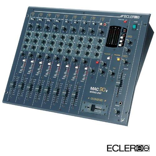 Mac 90v / 8 Kanal Club Mixer Send & Return, XLR Out