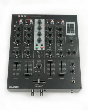 Nuo 4 / 4 Kanal Clubmixer int. Midicontroller