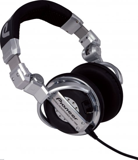 HDJ-1000 DJ Kopfhörer, silver