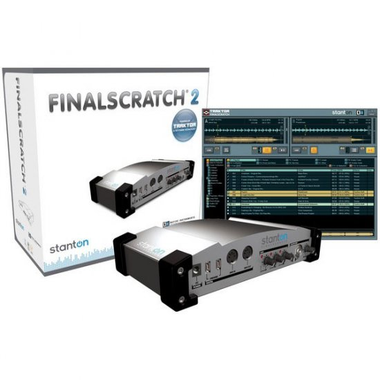 Final Scratch 2.0 PC & Mac MP3 Interface & Software