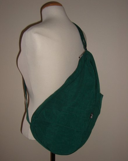 Green Ameribag Size Small Nylon Healthy Back Bag Sling Pack New w/out Tags