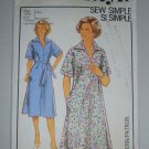 Uncut 1978 Style Pattern 2248 Dress Size 16 Retro Pullover Collar Dress