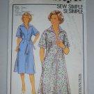 Uncut 1978 Style Pattern 2248 Dress Size 16 Retro Pullover Collar Dress