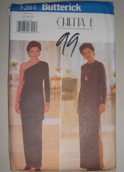 Uncut 1997 Butterick Pattern 5261 Chetta B. Size 12-14-16 Women's Top Skirt Pants Formal Wear