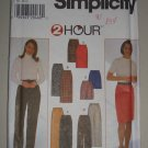 1997 Simplicity Pattern 7693 Women's Bottoms Size 8-10-12-14 Uncut Pants Skirt Shorts