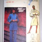 Butterick Pattern 4946 Women's Separates Size 38-40 Uncut Vintage 70s Dress Tunic Pants Set