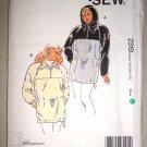 Ladies Pullover Anorak Jacket Sizes Xs-XL Retro Uncut Kwik Sew Pattern 2319 Women's Sportswear Coat