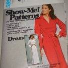 Retro Ladies Pullover Collar Dress Sizes 8-12 Uncut McCall's Pattern 5895 Women's Casual Shirtdress