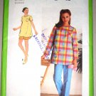 Maternity Top Pants Shorts Size 12 Uncut Simplicity Pattern 9047 Women's Casual Pullover Separates