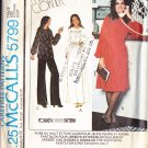CUT Retro Square Yoke Gathered Dress Plus Size 42 McCall's 5799 Painter's Smock Pants Knit Separates