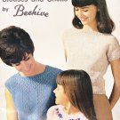Blouses and Shells Beehive Book 103 Vintage Knitting Pattern Girls' Sizes 2-12 Women's Sizes 12-18