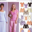 Romance Top Skirt Pants Outfit Size 8-14 Uncut Simplicity 5445 Flirty Prom Party Grad Wedding Formal
