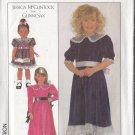 Jessica McClintock Girls' Party Dress Sz 3 Simplicity Sewing Pattern 8928 Gunne Sax Peter Pan Collar