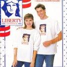 Unisex T-Shirt Heat Transfer Size Xs-L Uncut Butterick 499 Statue of Liberty Head 1886 Centennial